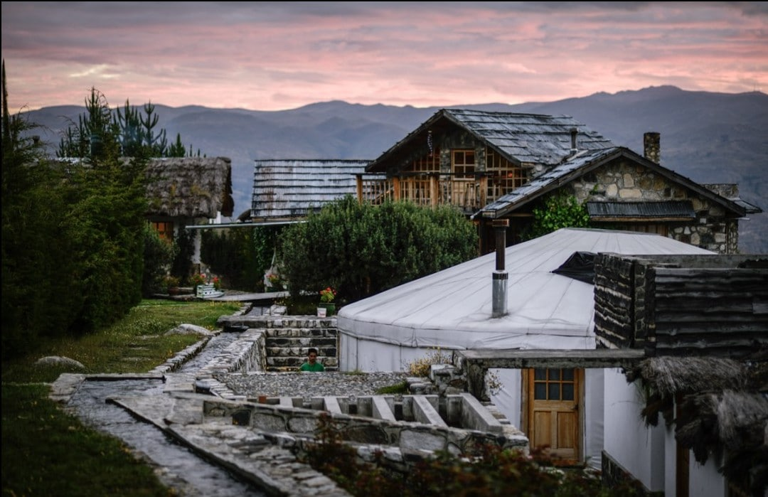 Alex Good is the founder of The Way Inn in Huaraz, Peru. | Image Source: The Way Inn