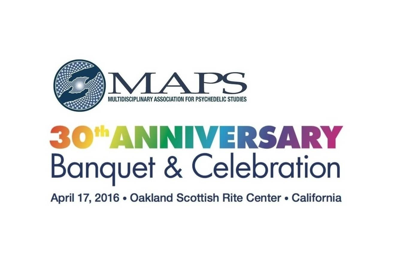MAPS 30th Anniversary Fundraising Dinner to Raise Funds for MDMA PTSD Study