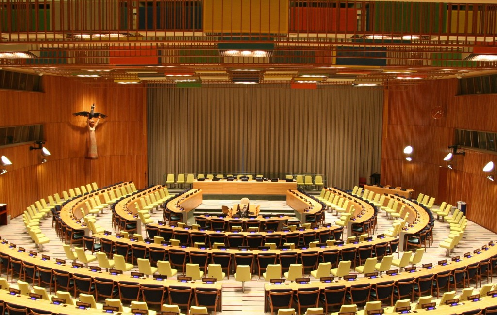 The United Nations met at the UN Headquarters in New York to discuss drug policy for the first time in eighteen years. | Image Source: Wikimedia Commons via user Patrick Gruban