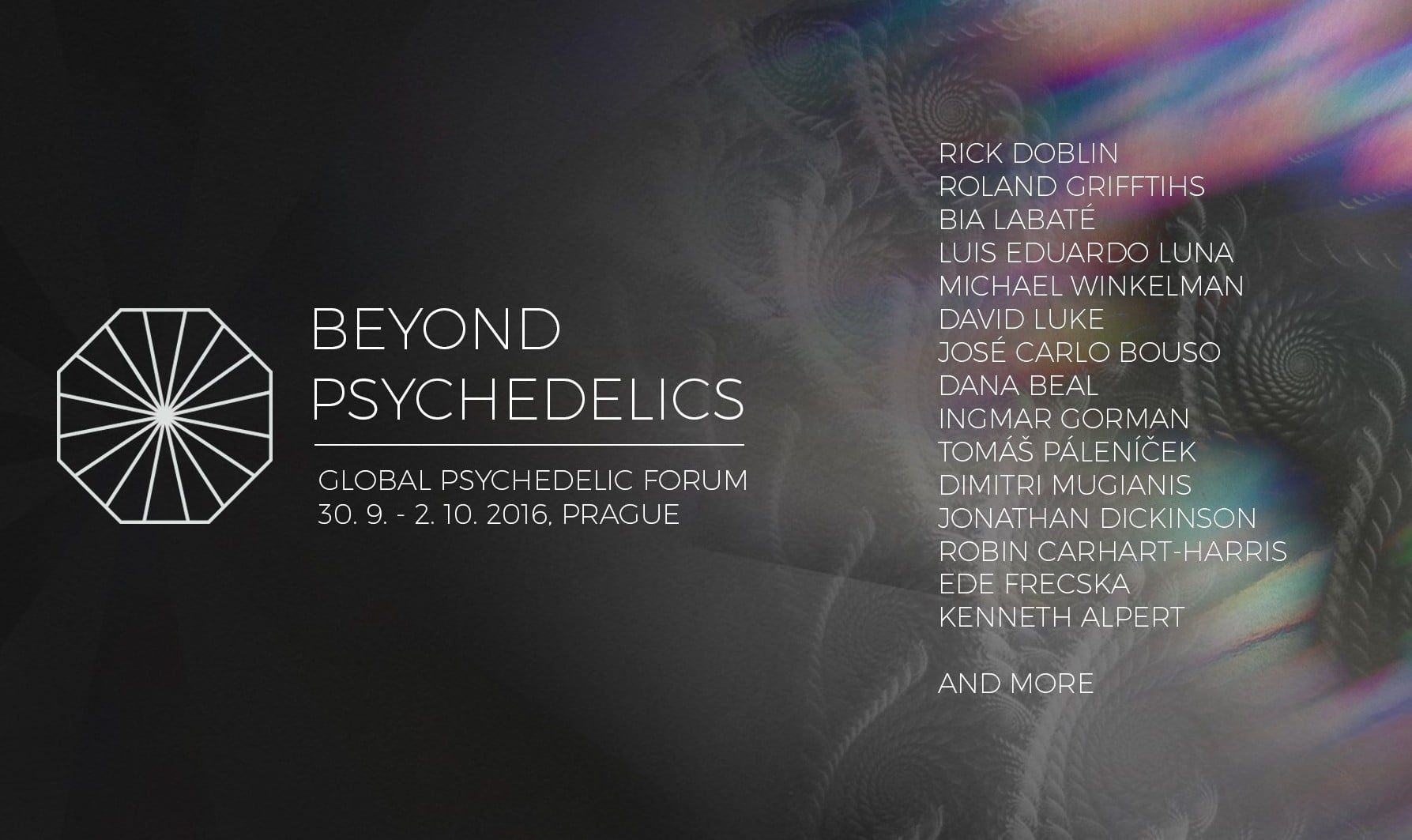 Beyond Psychedelics 2016: Global Psychedelic Forum in Prague Takes a Holistic Approach