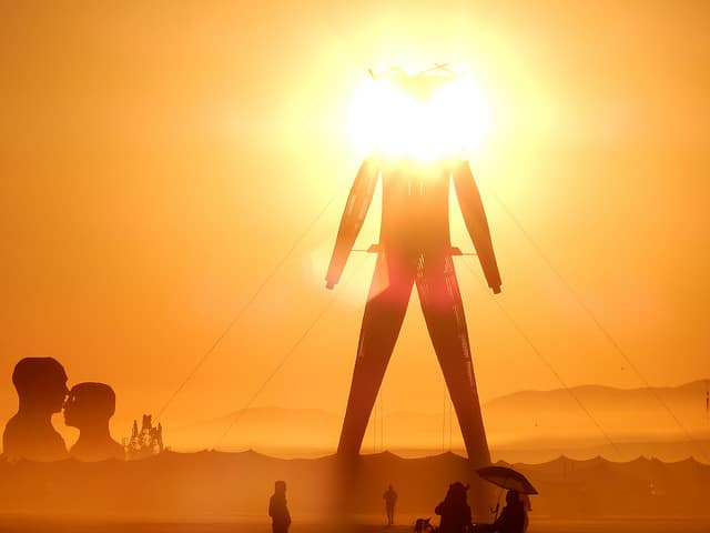 Zendo helps support positive psychedelic experiences at Burning Man.