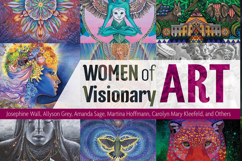 Women of Visionary Art: Interview with David Jay Brown and Rebecca Ann Hill